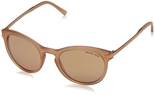 Michael Kors Damen ADRIANNA III 3164R1 53 Sonnenbrille, Peach/Rose Gold Flash,