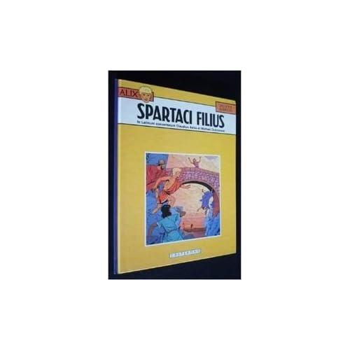 Alix, tome 12 : Spartaci Filius (version latine)