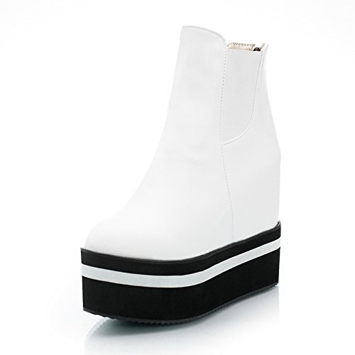 A&N - Scarpe con plateau donna White