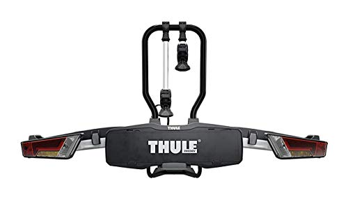 Thule 933100 Portabici Easyfold XT 933 per 2 Bici, Nero