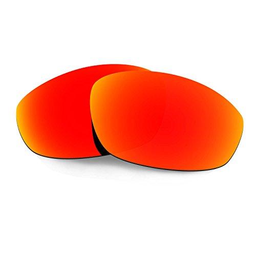 HKUCO Verstärken Ersatz-Brillengläser für Oakley Whisker Sonnenbrille Rot TAC Polarisiert