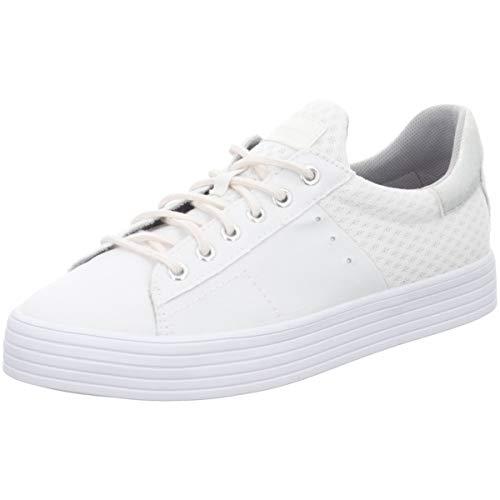ESPRIT Damen Sneaker 038EK1W030-100 weiß 440375