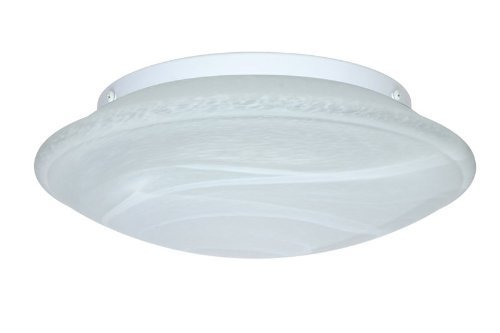 Besa Lighting 943052C 3X60W A19 Sola 16 Ceiling Flush Mount with Marble Glass by Besa - Besa Mount