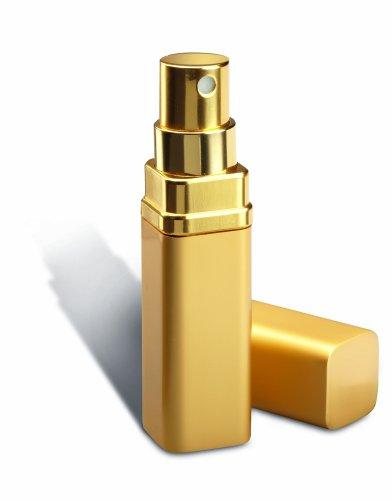REFLECTS ed elegante profumo nebulizzatore con spazio per 5 ml contenuto - perfetto per la borsa MOTRIL Gold-Silber Gold