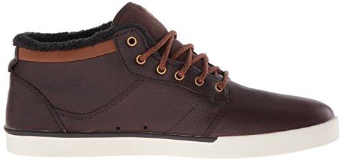 Etnies  JEFFERSON MID, Sneakers basses hommes Marron (Brown/White)