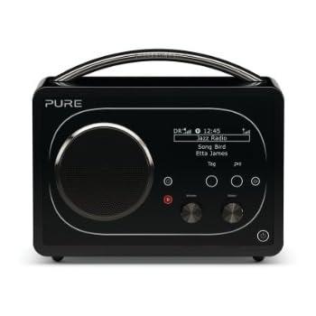 Pure Evoke F4 Portable Digital DAB/FM/Internet Radio with Bluetooth and Alarm