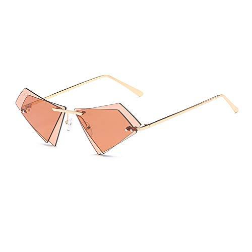 WET0VSD Bunte Frauen Männer Mode Trend Doppelschicht Objektiv Sonnenbrille Metallrahmen Uv400 Slim Eyewear Brille
