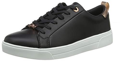 Ted Baker Damen Gielli Sneaker, Schwarz Black Blk, 38.5 EU