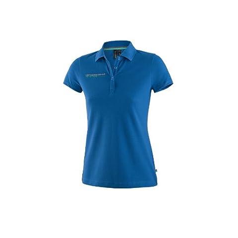 Mercedes AMG Petronas Damen Polo Womens blau Poloshirt Shirt 6000051