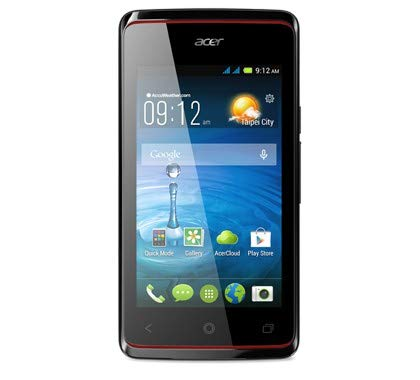 Acer Liquid Z200Duo 4GB schwarz-Smartphone (Dual SIM, Android, Edge, GPRS, GSM, HSDPA, HSUPA, Stange, Mediatek) -