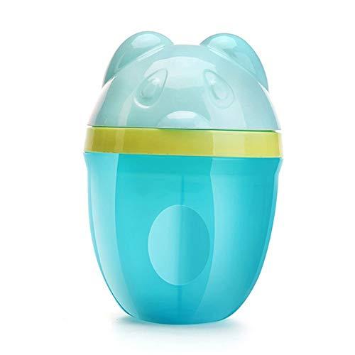 3 Gitter-Baby-Milchpulver-Kästen Karikatur-Pinguin-Formel-Zufuhr-Rettungs-Behälter-Kasten-tragbare Nahrungsmittelspeicher-Reise-Kästen, blauer Bär -