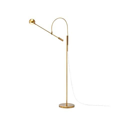 Moderne Antike Messing Einstellbare Eisen Lesen Craft Stehleuchte Interiors Zeitgenössische Metall Lampe 0702P - Antike Messing Tisch Base