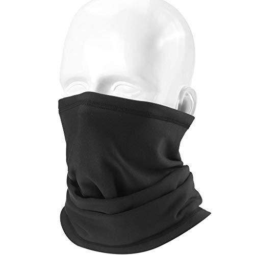 LCLrute Multifunktionstuch Gesichtsmaske,2pc Winter-Windschutz Muster Gesichtsmaske Motorrad-Gesichtsmasken Half Face Out Ridin Waschbar, Wasserdicht, Atmungsaktiv