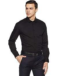 Arrow Newyork Men's Solid Slim Fit Formal Shirt