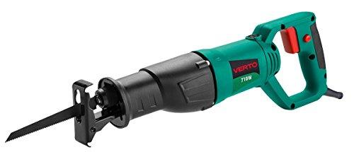 Grupa Topex 52G166Sega A Stichsäge 710W, Schwingungen 0–2800min-1, Max Oszillation 20mm, grün dunkel Intenso