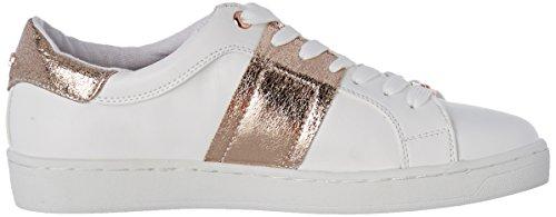 Tom Tailor 2792601, Baskets Basses Femme Blanc (white-rose)
