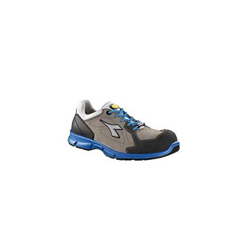 Diadora Herren D-Flex Low S3 Src Sicherheitsschuhe Grau/Blau
