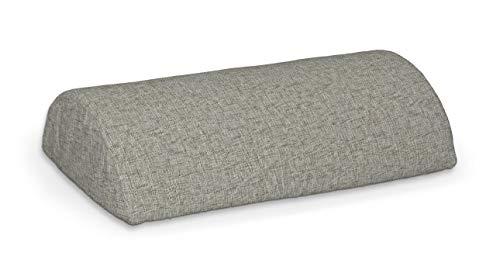 Dekoria Beddinge Bezug für die halbe Nackenrolle Sofahusse passend für IKEA Modell Beddinge grau