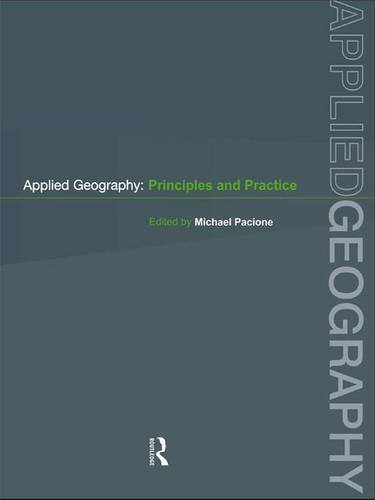 Applied Geography: Principles and Practice