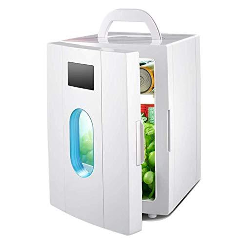 L&Z 10L Small Home Kühlschrank, Auto Dual-Use Hot und Kalt Dual Use Rapid Cooling 220V AC/12V DC