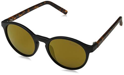 Pepe Jeans Damen Isabel Sonnenbrille, Schwarz (Black/Brown), 51.0