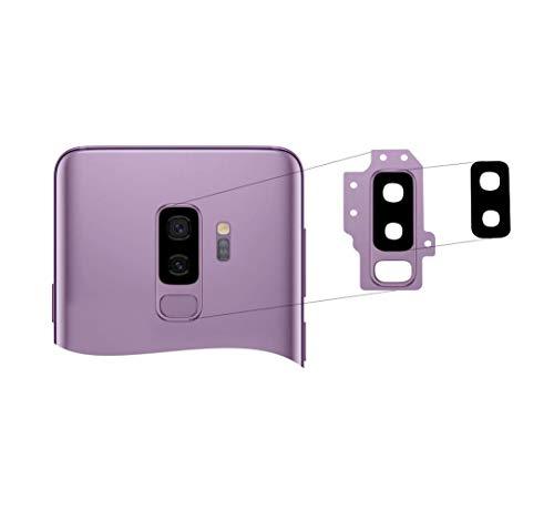 RepairMedia-Shop ★ Für Samsung Galaxy S9 Plus Lilac Purple Kameralinse Glas Objektiv Glas Scheibe Camera Lens Linse in Lila Ersatzteil für Samsung Galaxy S9+ ★RM★