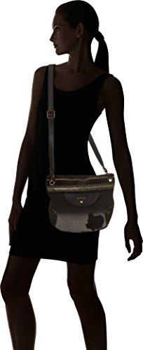 Desigual Bols_brooklyn Blackbout. 2000. U - Donna, Nero (Negro), 1x27.80x31.6 cm (b x h t)