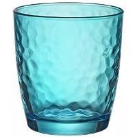6er Set Blau 320 ml Palatina Gefärbte Trinkgläser