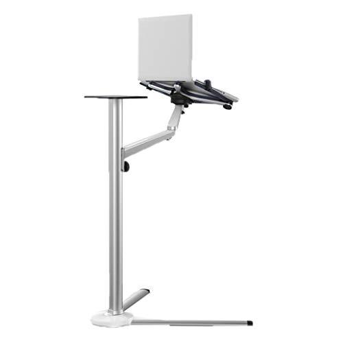 YULAN Boden Bett Computer unterstützung Tisch faul Lift einstellbar flip Lernen Schlafzimmer einfache kreative 63 cm * 49 cm * 31 cm (Schwarze 10-zoll-kunststoff-platten)