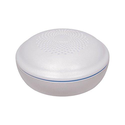 ELRO FW3801R Connects Funk Wassermelder, Weiß