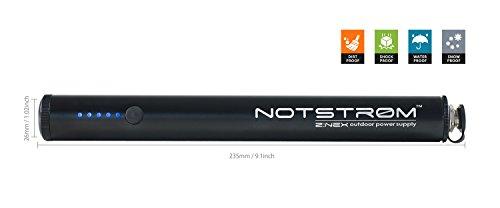 ZNEX notstrøm XT- 6.800mAh All-Terrain USB Ladegerät, portabler Akku, Wasserdichte Staubdichte und Stoßfeste Outdoor Powerbank mit Fahrradhalterung zum Laden von iPhone Handy Smartphone Navi GoPro
