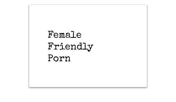 Female Friendly Porn: Amazon.de: Natarajan, Natasha ...