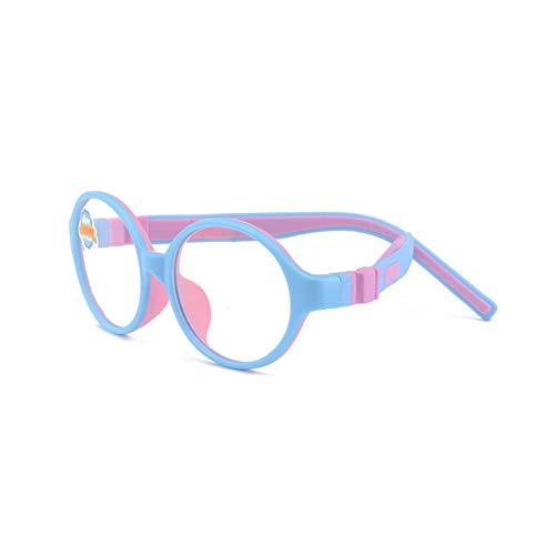 Blaues Licht, das Computer-Gläser für Anti-Augen-Belastung UV-transparente Linse Computer-Lesebrille Anti Blue Rays Anti Blend und Anti UV blockiert-3