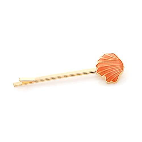 YOFO Ozean Stil Süße Candy Farbe Haarnadeln Frauen Nette Lebendige Muschel Conch Starfish Form ()