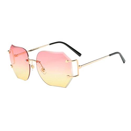 brillen-feitong-sommer-retro-platz-farbverlauf-farbe-glaser-spiegel-objektiv-reise-sonnenbrille-gelb