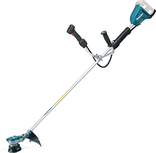 Makita DUR365UZ Twin 18 V Li-ion Brushless Brush Cutter, No Batteries Included
