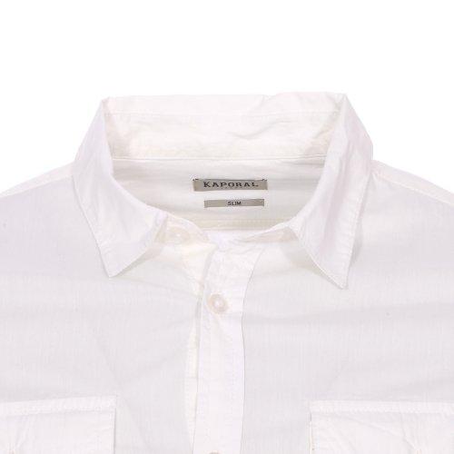 Kaporal - Chemise Rarm White Blanc