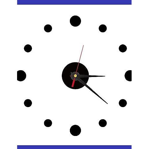 Da Wu Jia wall arte Roma Numero parete quadrata in cristallo acrilico orologio Mirror TV parete di sfondo orologio orologio quattro camere da letto , oro
