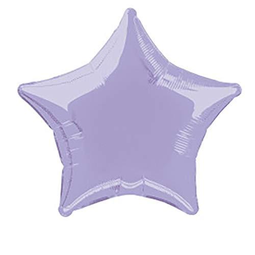 Ballon étoile en aluminium de 50 cm Lavande