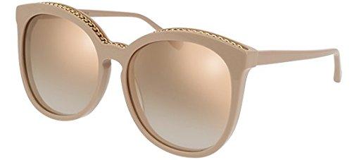 Stella mccartney sc0074s 004, occhiali da sole unisex-adulto, rosa (004-pink/gold), 59