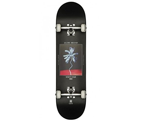 Globe G1 Palm Off Skateboard, Black, 8 -