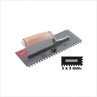 Rubi – Peine Inox 28 Cm. (10 X 10) (74914)
