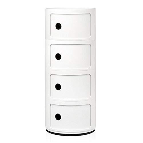 Kartell, Componibile, Contenitore, Bianco, 32 x 32 x 77 cm