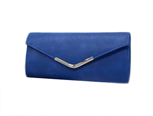 Wanghong , Damen Schultertasche Blau