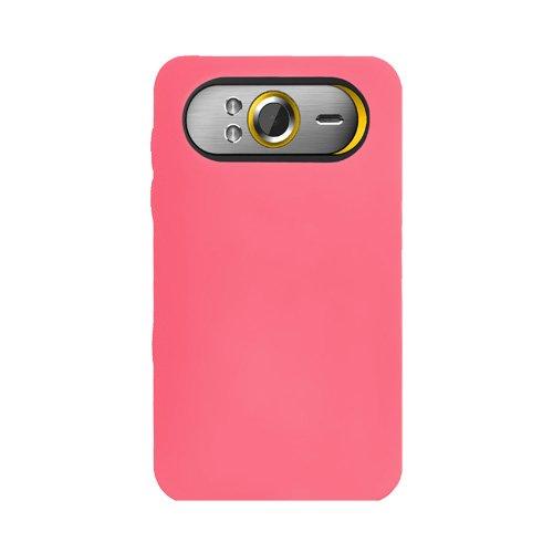 Amzer Jelly case Étui en silicone pour HTC HD7 Rose (Import Royaume Uni)