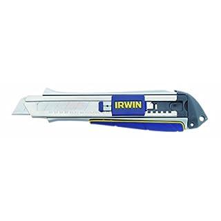 Irwin Heavy Duty Cutter-Abrechklingenmesser 18 mm, Feststellschraube, ProTouch 2K-Griff, 10507106