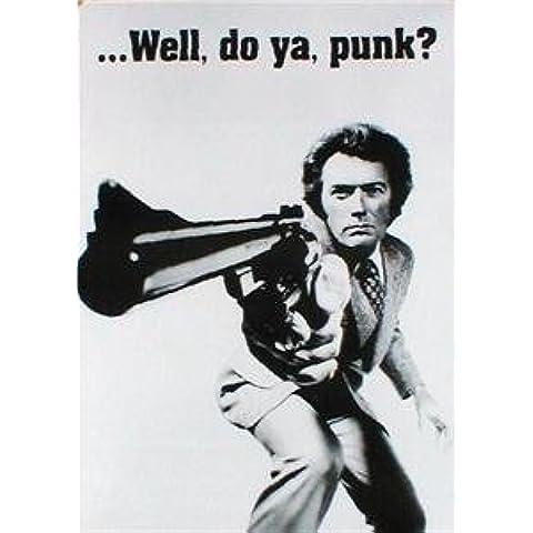 Poster de cine PLASTIFICADO. Clint Eastwood en