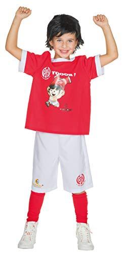 Rubie's 1. FSV Mainz 05 Mainzelmännchen Fan Kostüm Jungen Trikot Größe 128 Kinder Fußball Karneval (Trikot Kostüm Für Jungen)