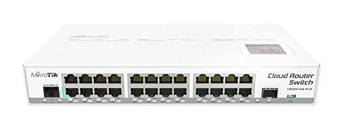 Mikrotik CRS125 24G 1S IN Ethernet   Router 10