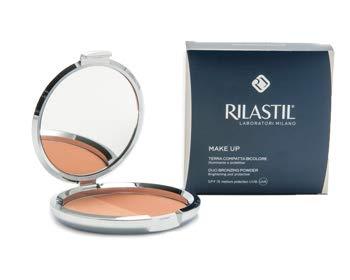Rilastil Maquillage Terra Polvere Compatta Illuminante Bicolore SPF 15 18 g
